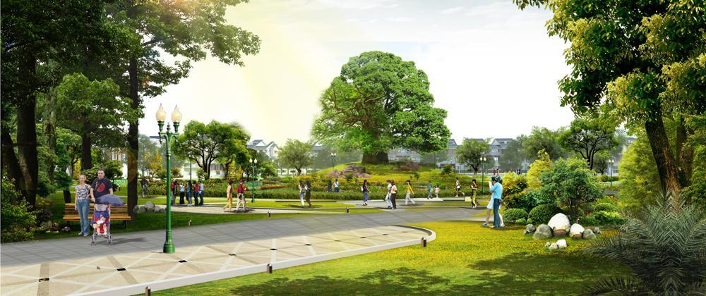 Công viên nội khu Khu đô thị Hưng Hòa