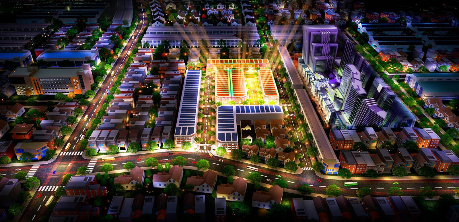 Phối cảnh tổng thể dự án Thiên An Origin tại Thuận An, Bình Dương