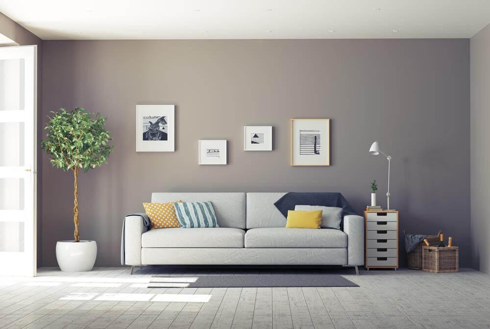 phòng khách mang phong cách hiện đại
