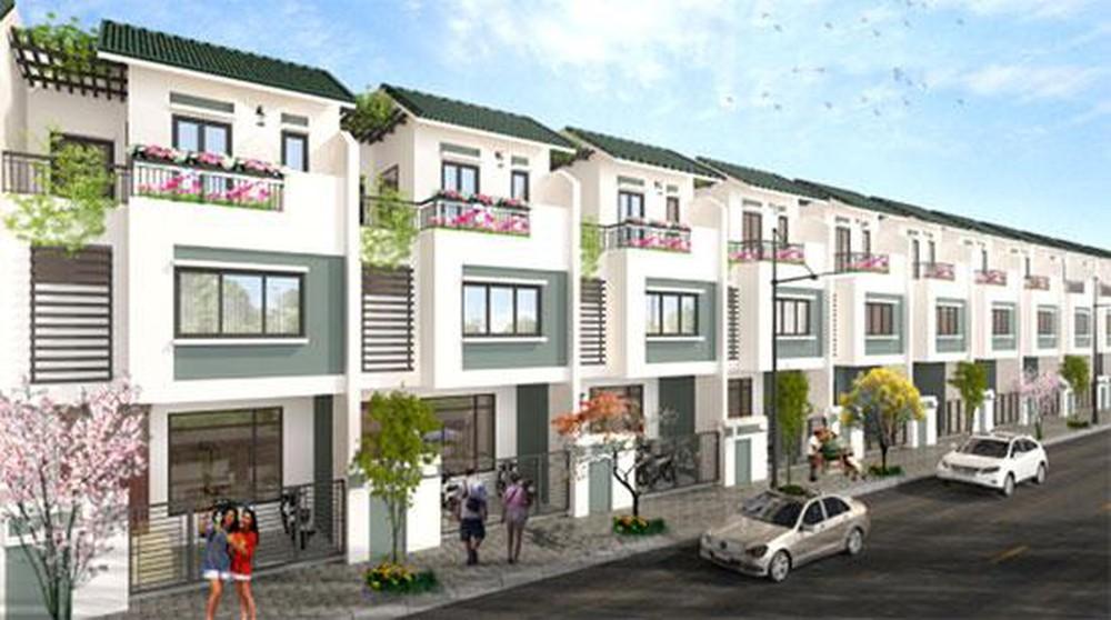 Phối cảnh phân khu Eco Forestina - khu liền kề nằm trong dự án Khu đô thị Quang Minh Green City