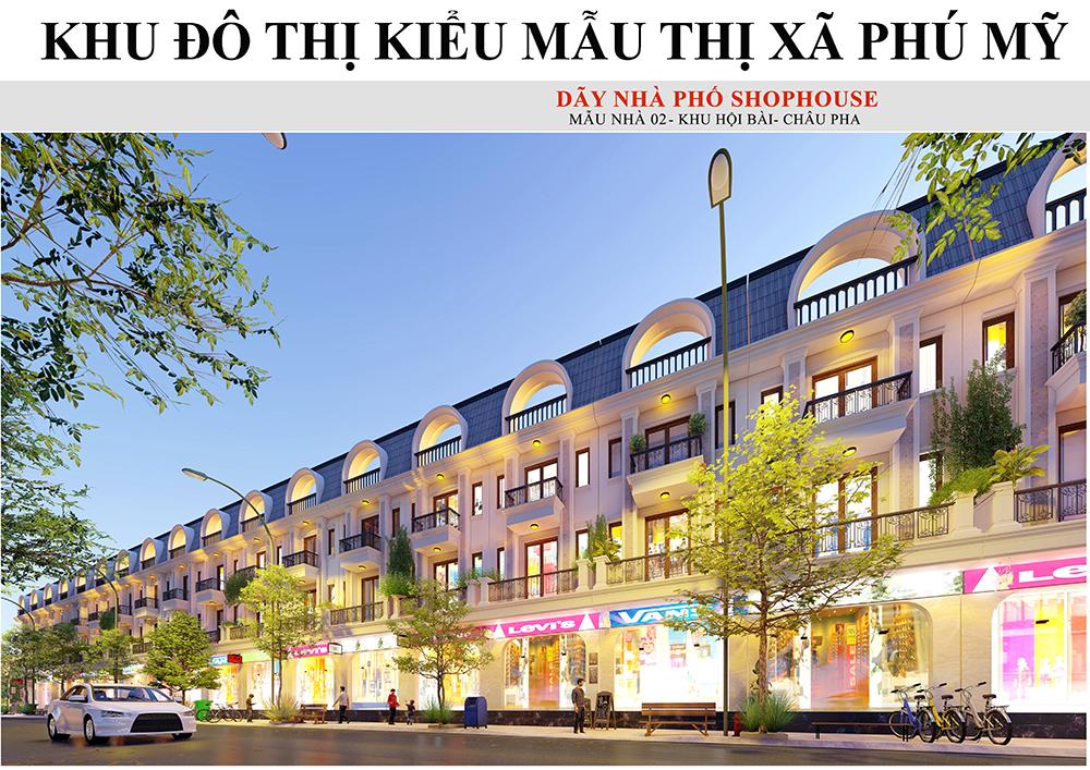 Phối cảnh dự án Phú Mỹ New City tại Phú Mỹ, Tóc Tiên
