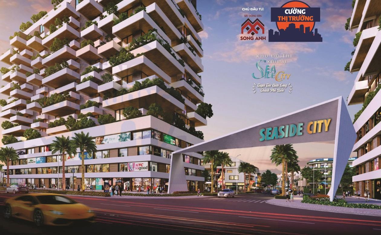 Phối cảnh dự án Khu đô thị Seaside City tại Rạch Giá, Kiên Giang