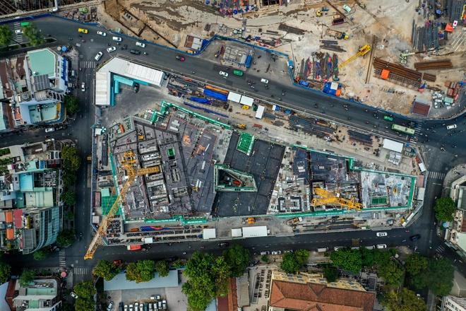 Dự án Khu tứ giác Bến Thành tại quận 1, TP.HCM được bao bọc bởi 4 con đường