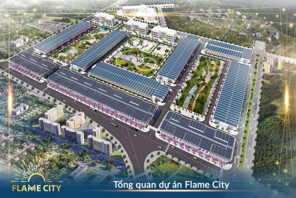 Phối cảnh tổng thể dự án Khu dân cư Hà Huy Tập tại Buôn Mê Thuột