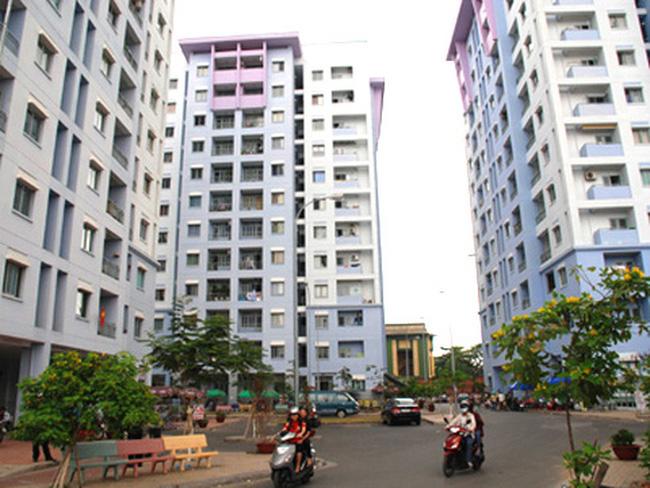 1 tòa nhà chung cư