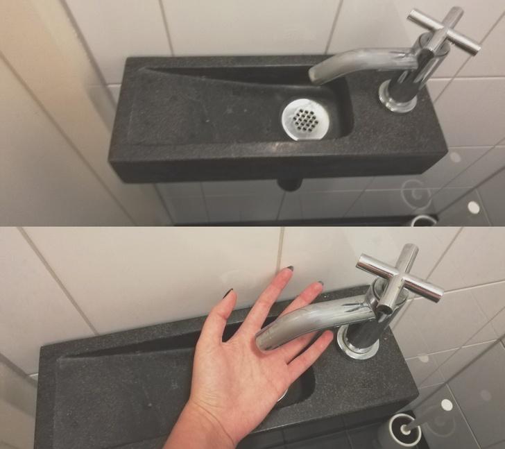bồn rửa tay nhỏ màu đen