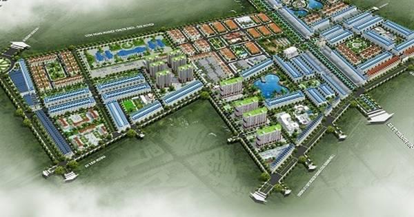 hình ảnh phối cảnh dự án khu đô thị Phú Quý