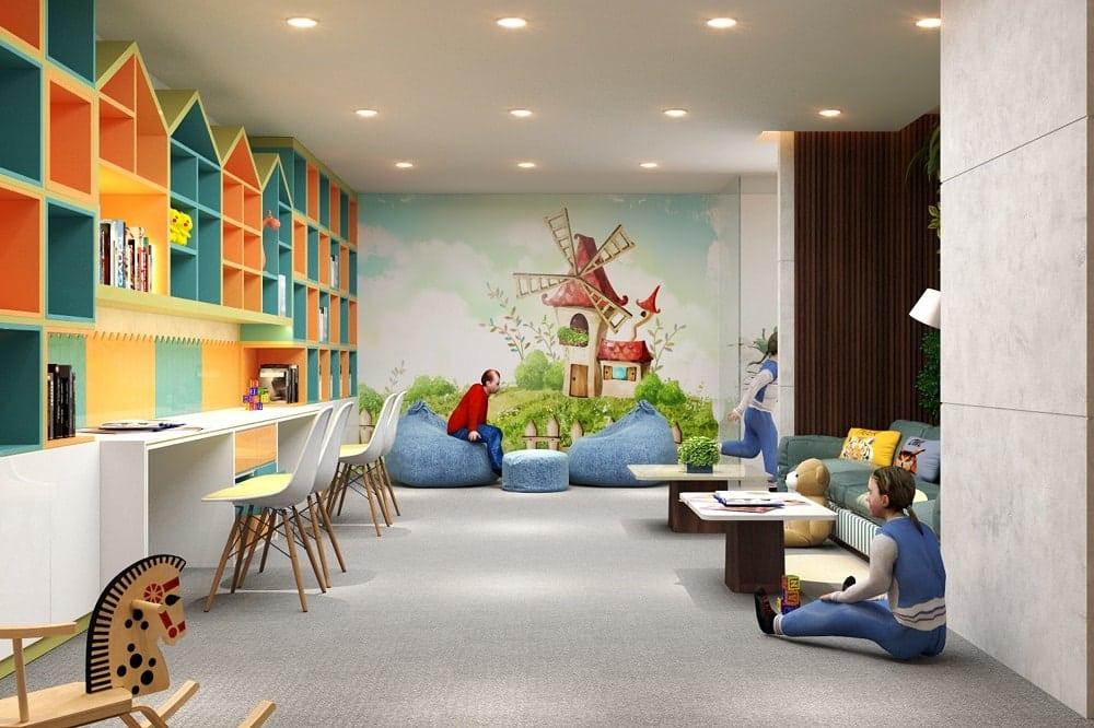 Phòng chơi cho trẻ em tại Green Building