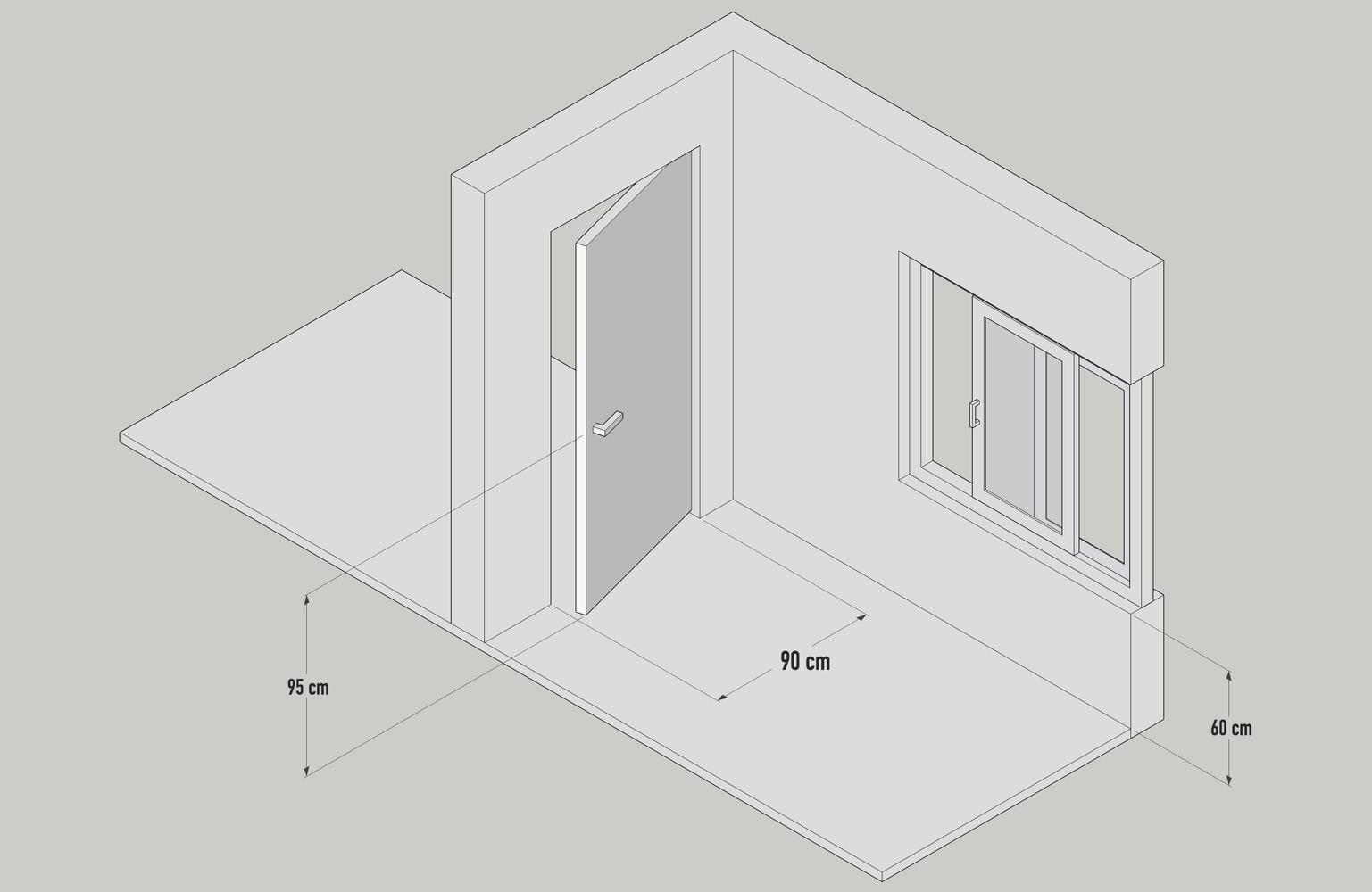 kích thước cửa