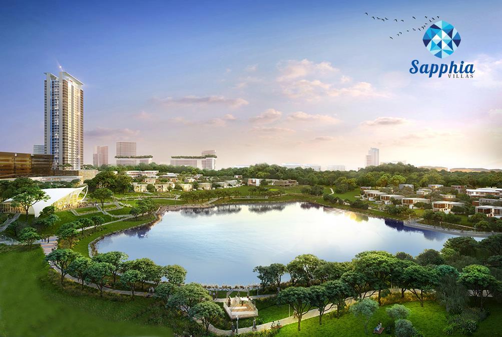 Phối cảnh dự án Sapphia Villas