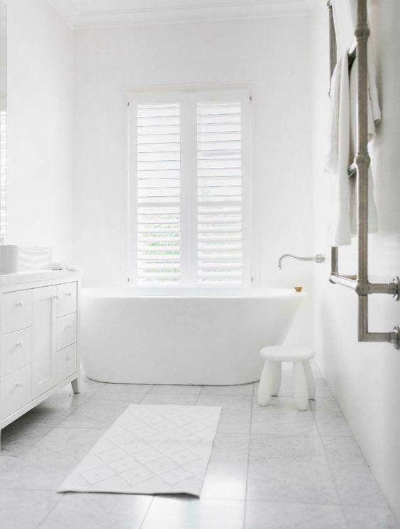 phòng tắm đẹp thuần khiết