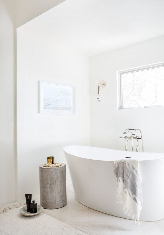 không gian tắm thanh bình