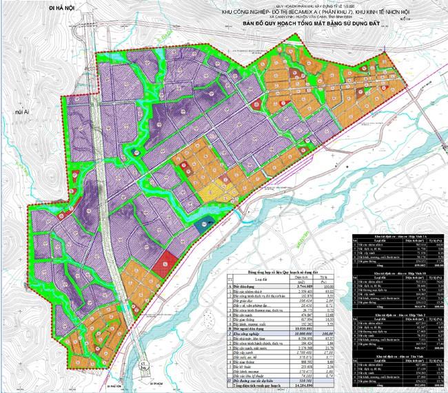 bản đồ quy hoạch phân khu
