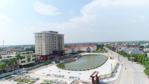 một góc huyện Tiền Hải