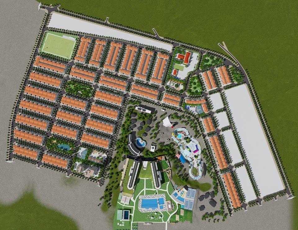 Phối cảnh tổng thể dự án Gosabe City