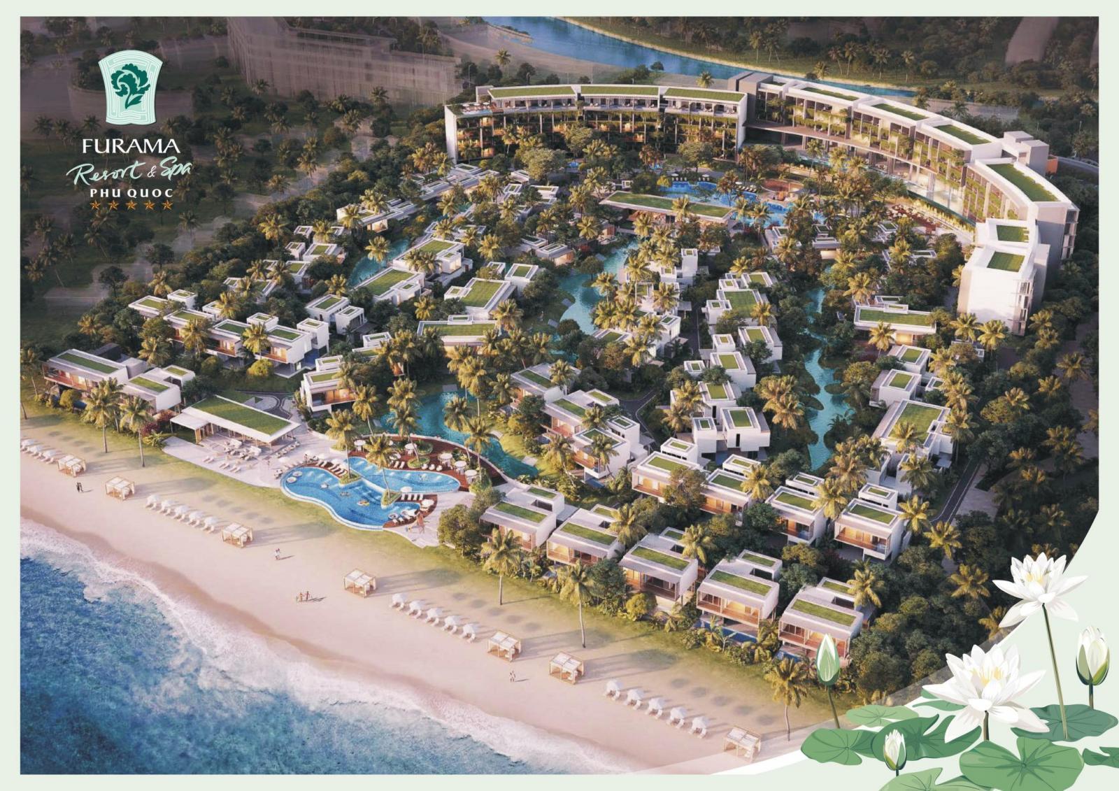 Phối cảnh tổng thể dự án Furama Resort & Spa Phú Quốc