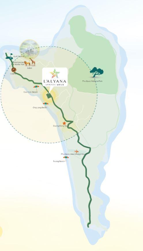 Vị trí dự án Furama Resort & Spa Phú Quốc