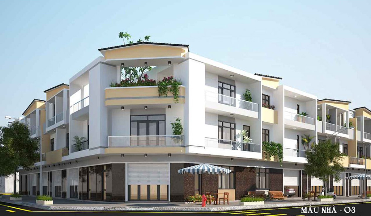 Phối cảnh dự án Phú Mỹ Eco City