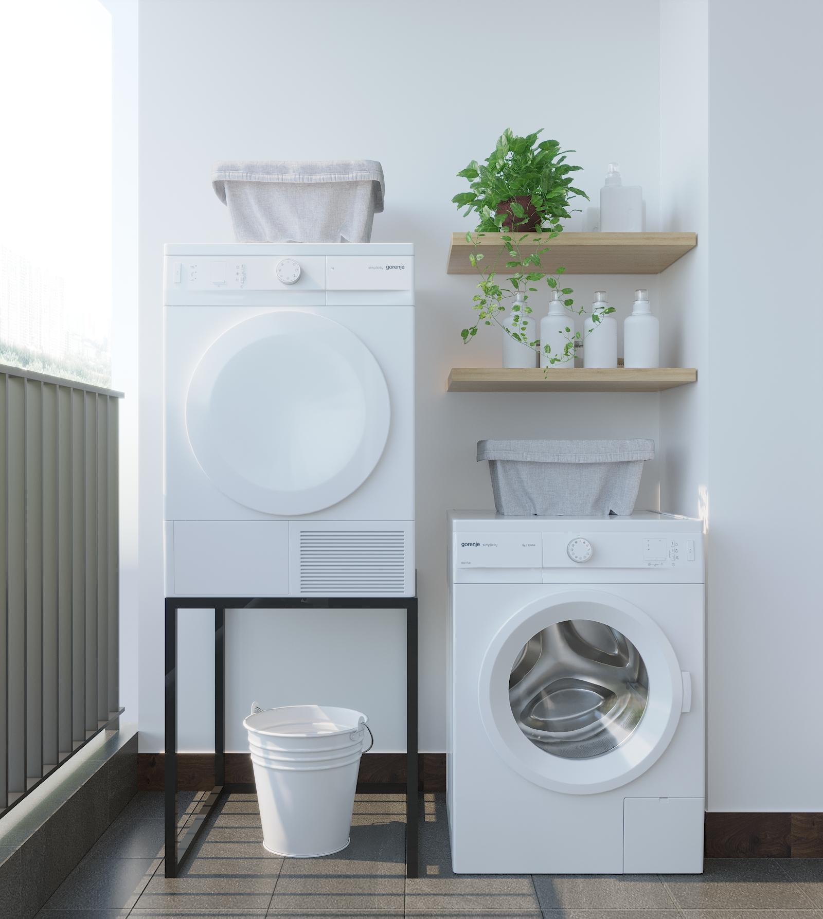 logia đặt máy giặt