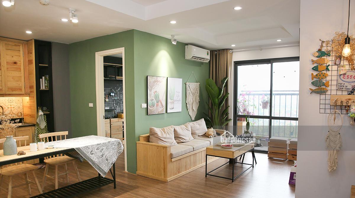 Hoàn thiện căn hộ 57m2 với 100 triệu đồng nhờ tự đóng nội thất