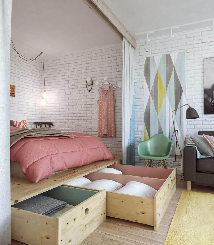 Cách sắp xếp đồ nội thất vừa khít phòng ngủ nhỏ, bạn đã biết chưa?