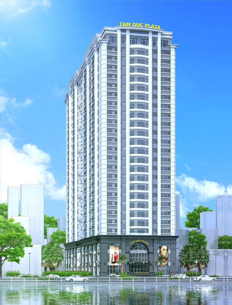 Phối cảnh tổng thể dự án Tam Đức Plaza