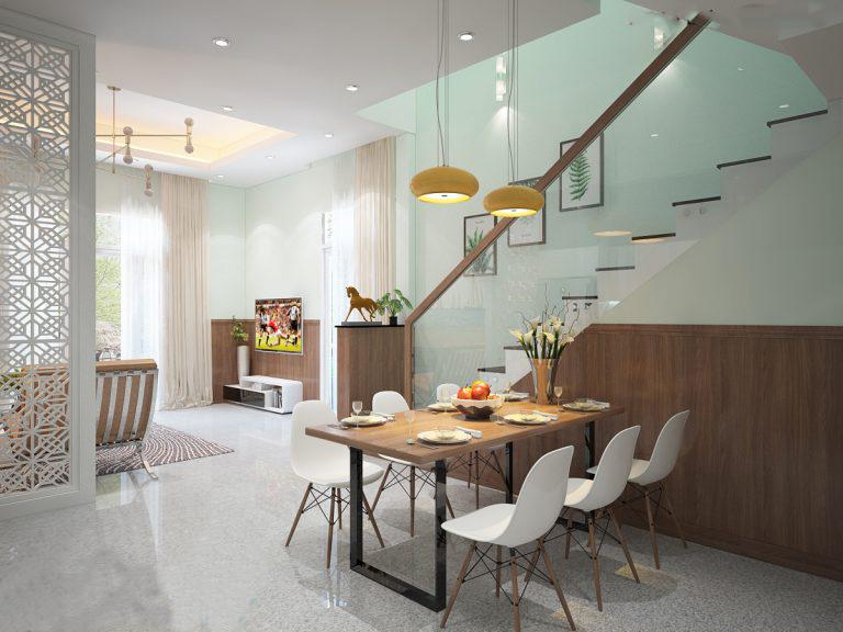 Phối cảnh nội thất phòng bếp