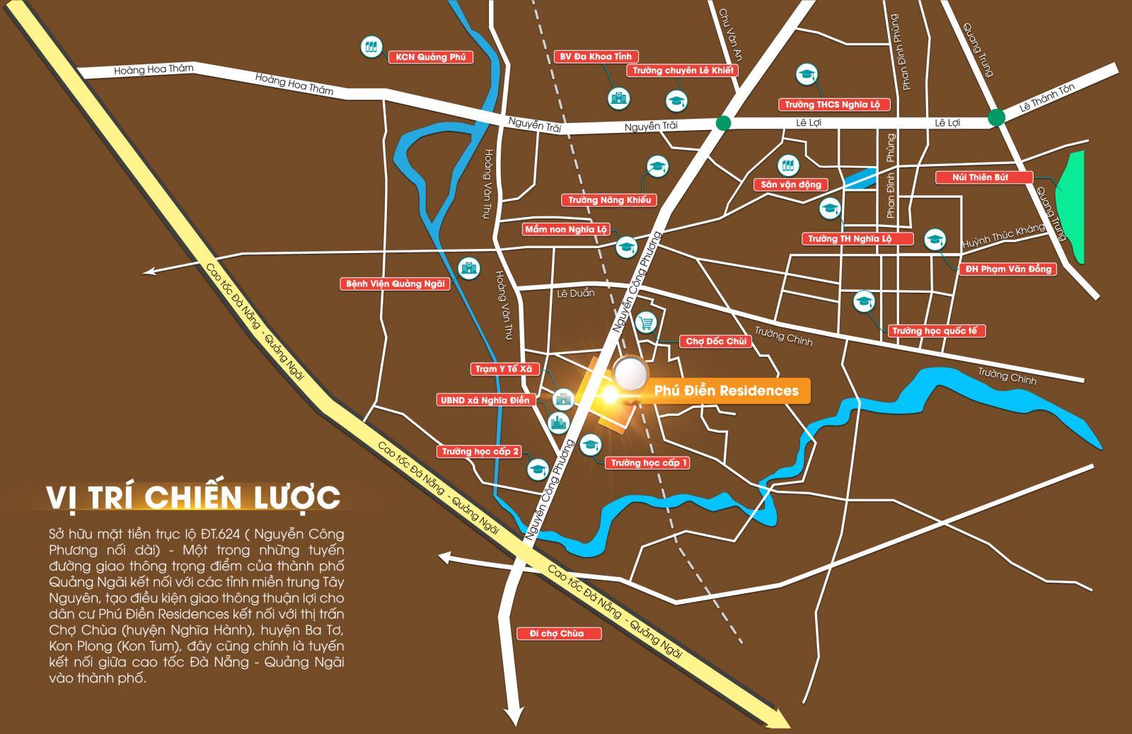 Vị trí dự án Phú Điền Residence