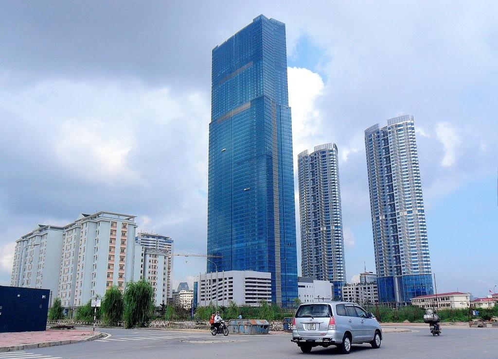 Keangnam Landmark Tower in Hanoi