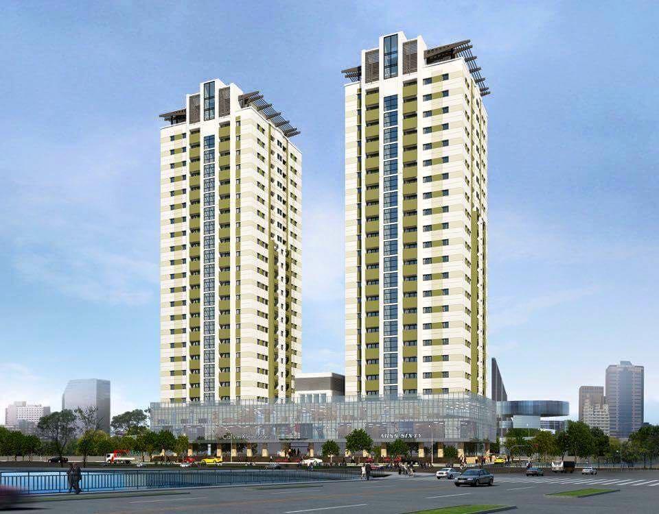 Phối cảnh tổng thể dự án Trần Hưng Đạo Plaza