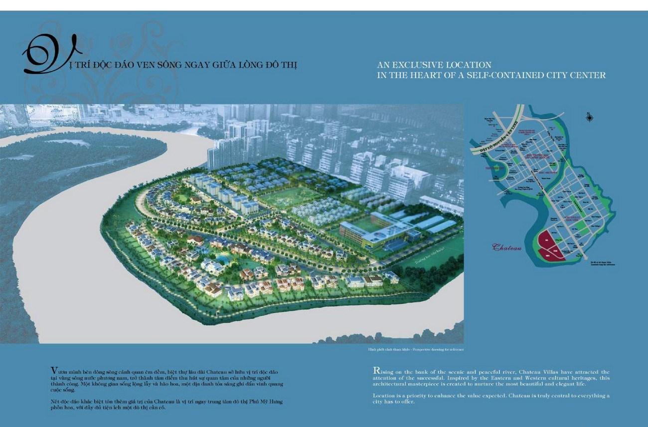 Phối cảnh tổng thể dự án Hồng Thịnh Phú Mỹ Hưng