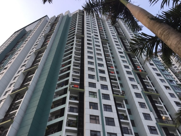 Một tòa chung cư tại Hà Nội đã mở bán sau khi covid-19 được kiểm soát, thị trường bất động sản phục hồi..