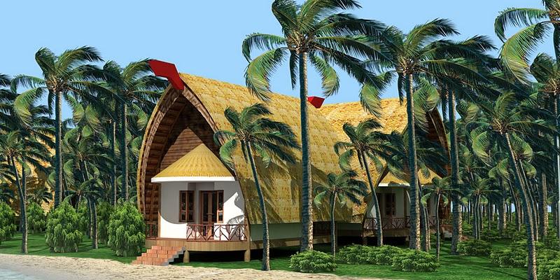 căn nhà Bungalow view biển
