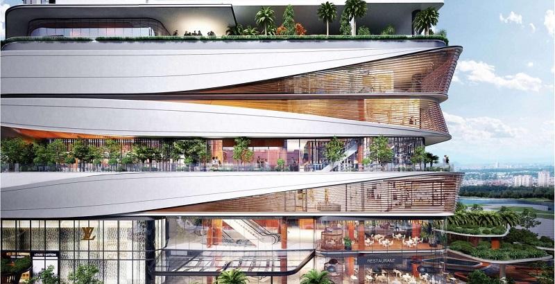 Khối đế thương mại dự án Han Jardin