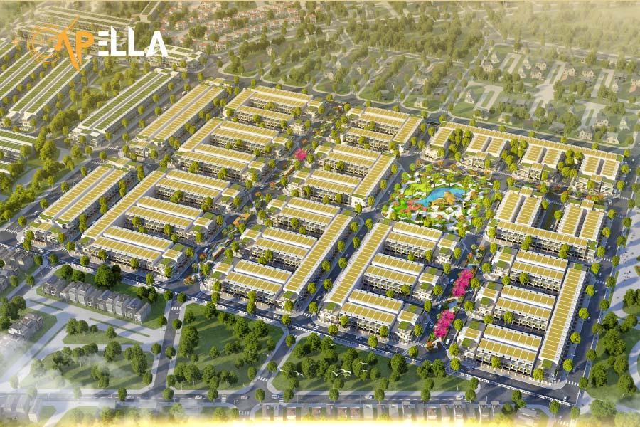 Phối cảnh tổng thể dự án KVG The Capella Nha Trang