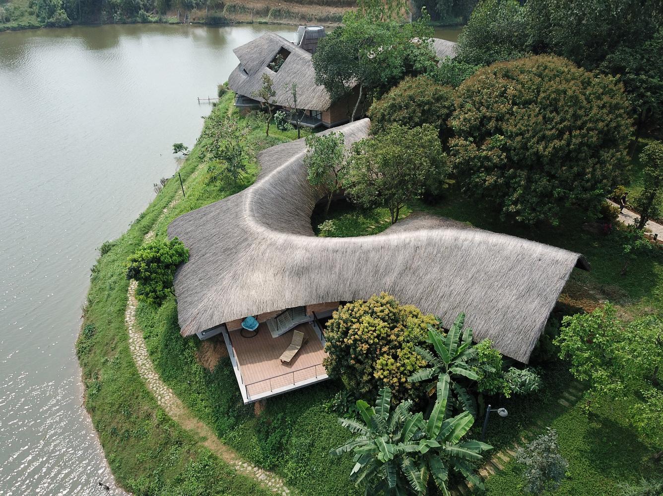 Tìm lại chút hồn quê Bắc Bộ xưa trong không gian Nhà Mẹ ở Sơn Tây