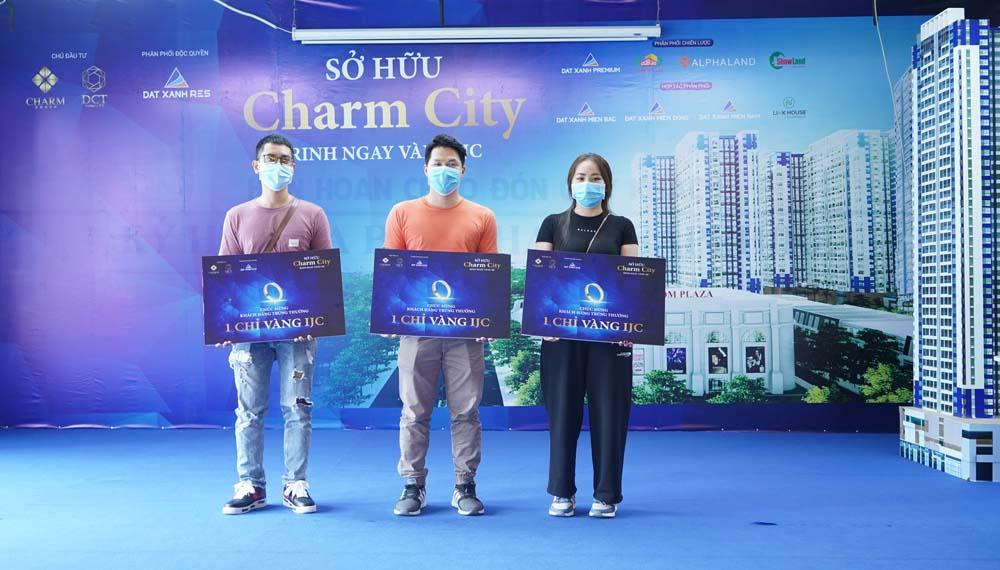 Khách hàng mua Charm City trúng thưởng