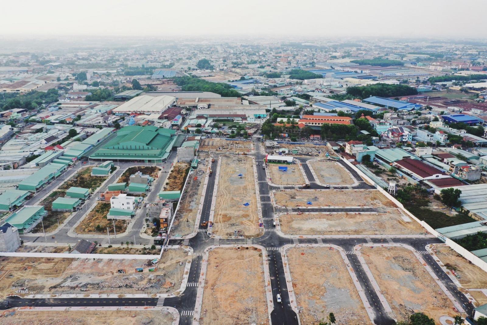 Hình ảnh đất nền dự án và khu dân cư