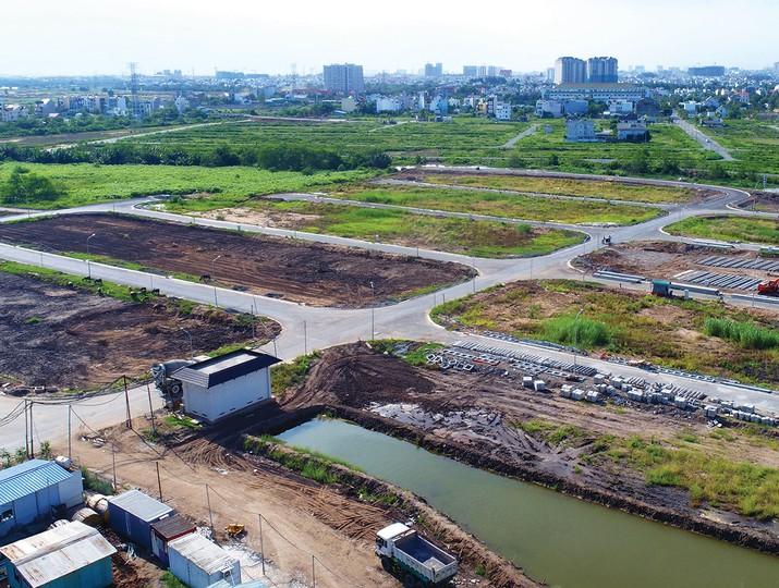 bãi đất trống, đất nền dự án