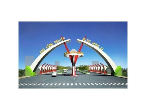 Phối cảnh cổng chào dự án Khu công nghiệp Minh Hưng III