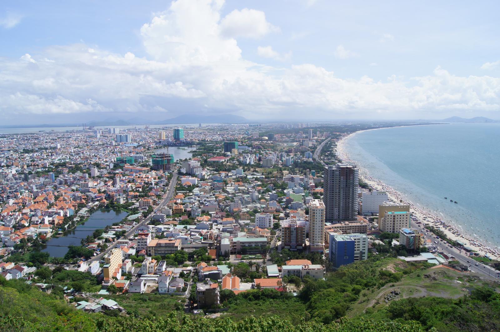 nhà ở nằm ven biển Vũng Tàu