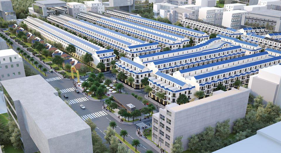 Phối cảnh tổng thể dự án Sài Gòn Centre Gate