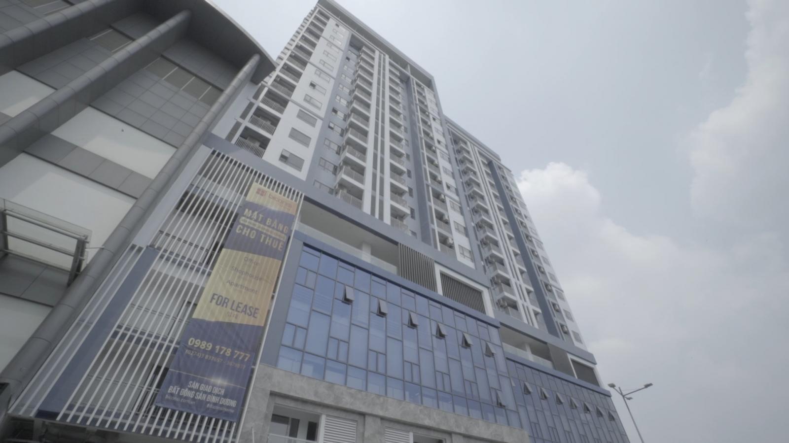 Biconsi Tower nằm trên khu đất hai mặt tiền đường Phú Lợi và Đại Lộ Bình Dương