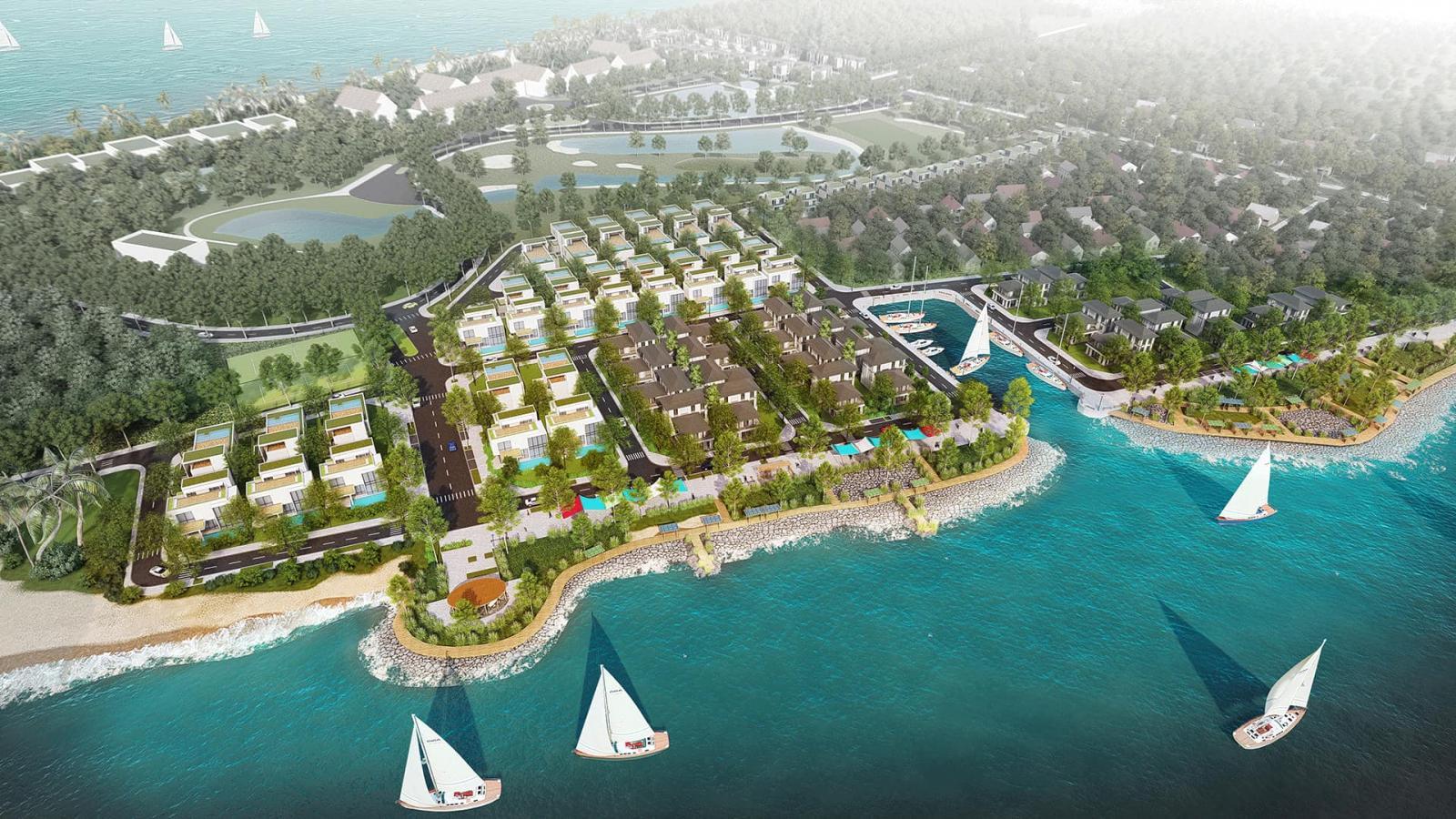 Phối cảnh dự án La Rivière Quảng Bình