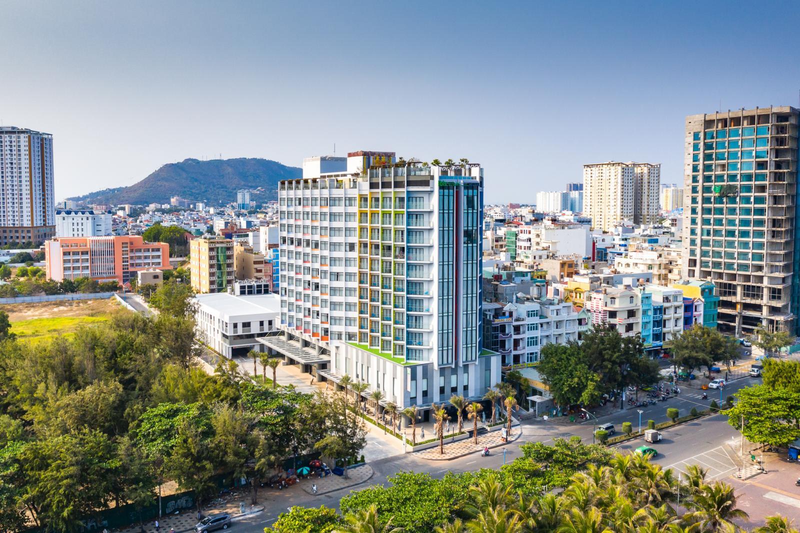 Một khu khách sạn du lịch nghỉ dưỡng ở Vũng Tàu