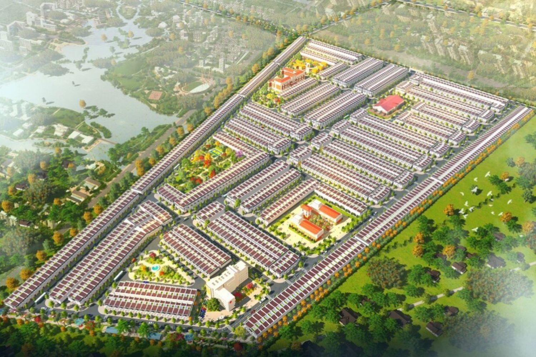 Phối cảnh tổng thể dự án Thăng Long Residence