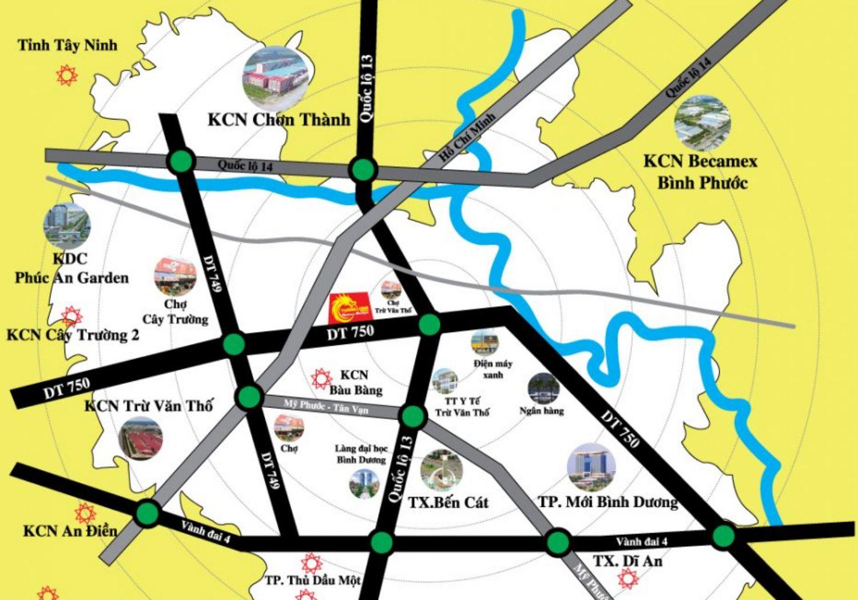 Vị trí dự án Thăng Long Residence