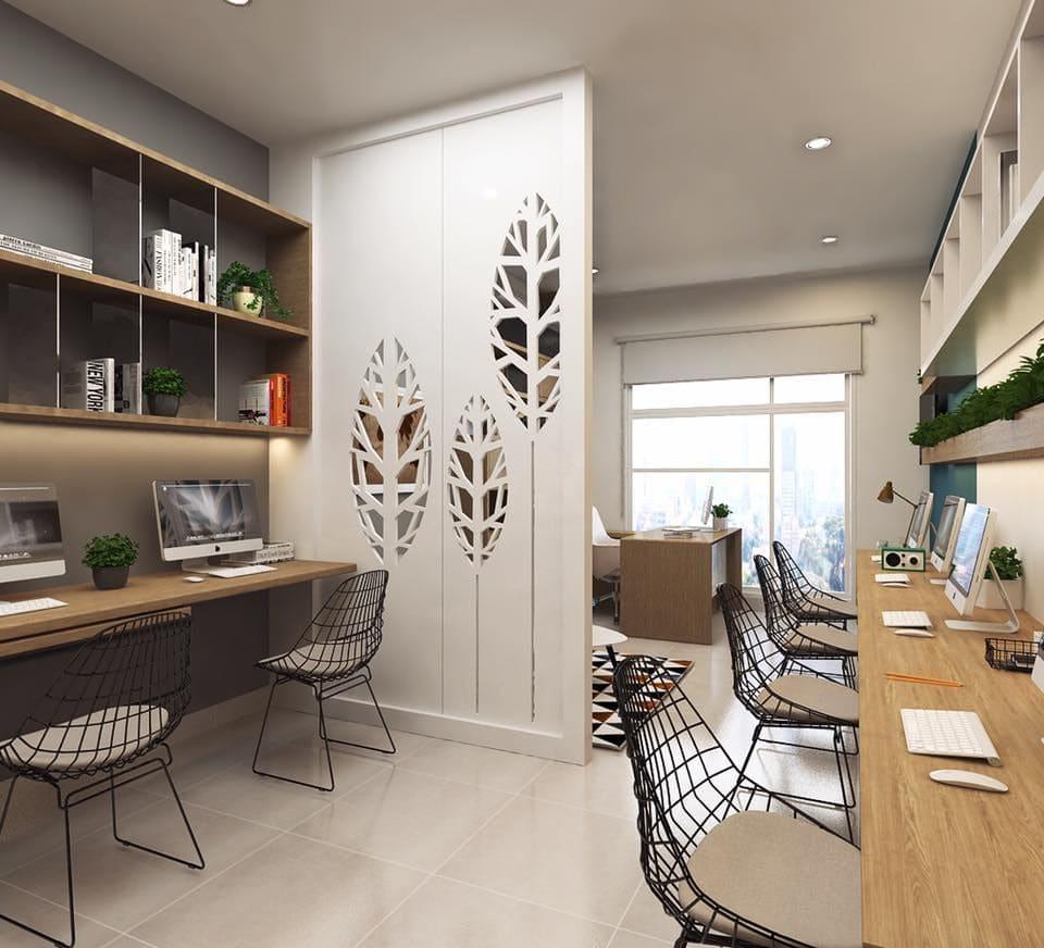 thiết kế căn hộ Officetel hiện đại
