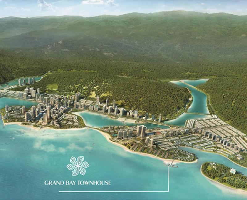 Vị trí dự án Grand Bay Town House