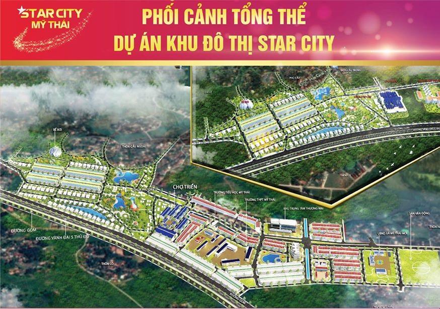 Vị trí dự án Khu đô thị Star City